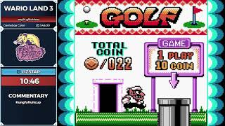Wario Land 3 by lizstar in 1:32:10
