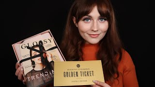[ASMR] Glossybox Golden Ticket Unboxing - May 2019