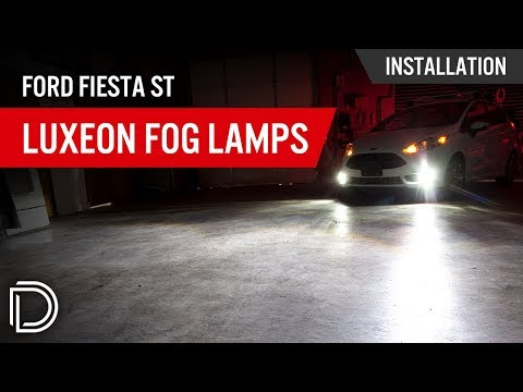 How to Install Luxeon Fog Lamps on a Ford Fiesta ST from YouTube · Duration:  4 minutes 11 seconds