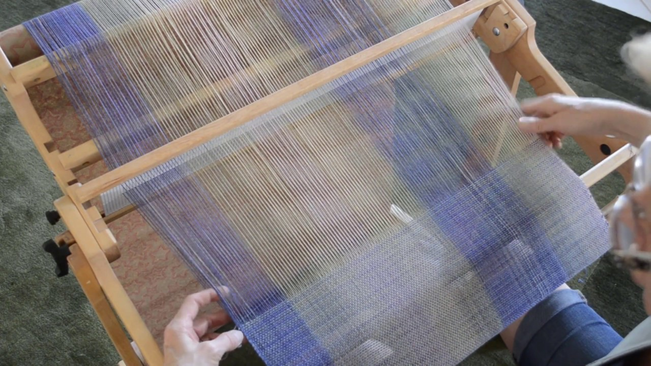 Finding Your Pace on the Rigid Heddle Loom