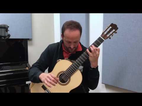Barrios: Prelude in G minor, Op. 5 (Tariq Harb, guitar)