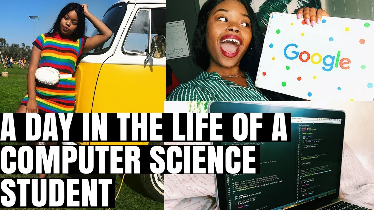 Day In The Life Of A Computer Science Student Youtube