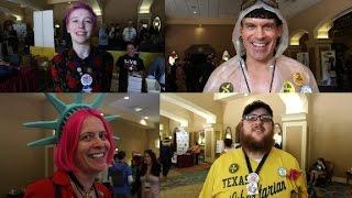 Libertarians throw shade at Dems and GOP at convention