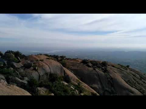 Savandurga Bangalore Trekking Peak rare video