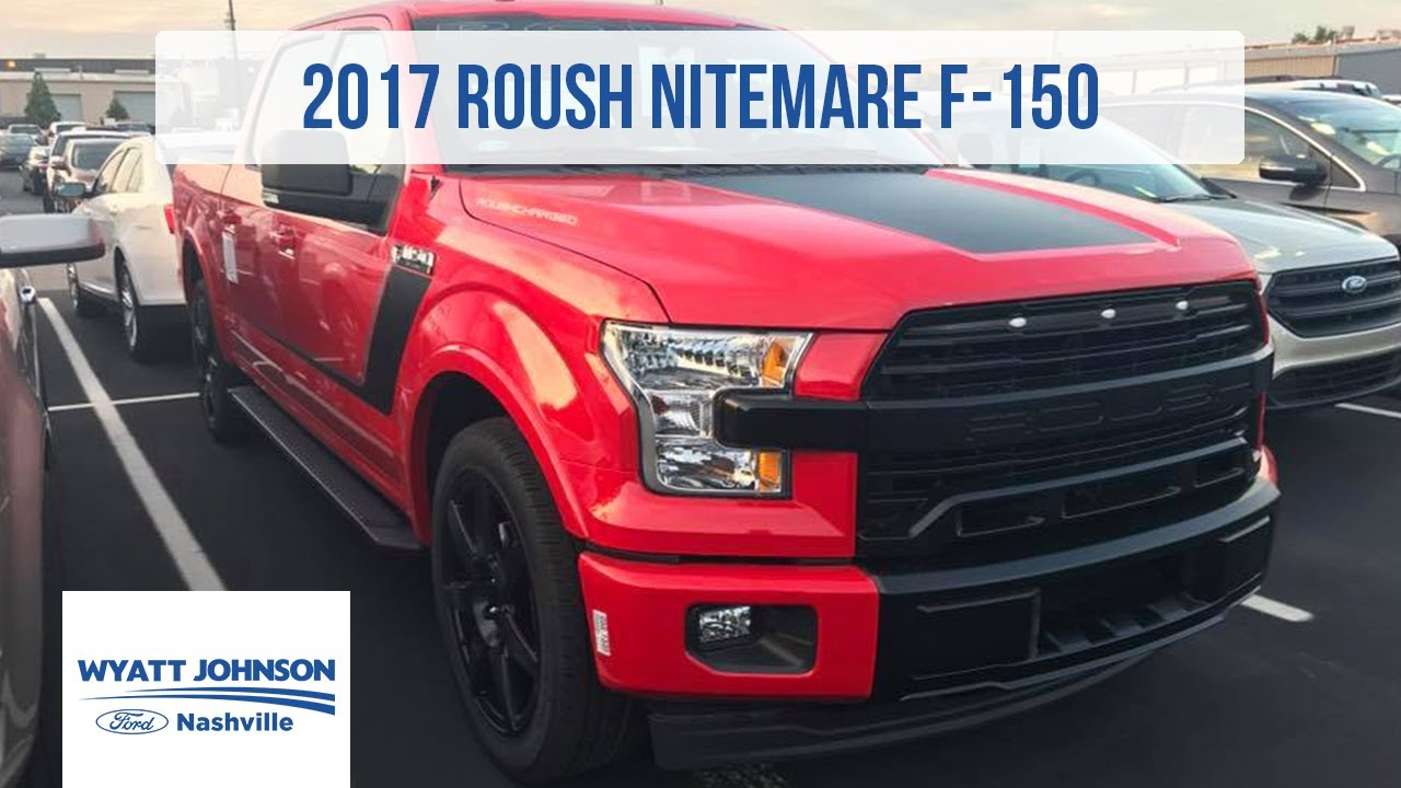 2017 Roush F-150 Nitemare SUPERCHARGED | 0-60 in 4.2 ...