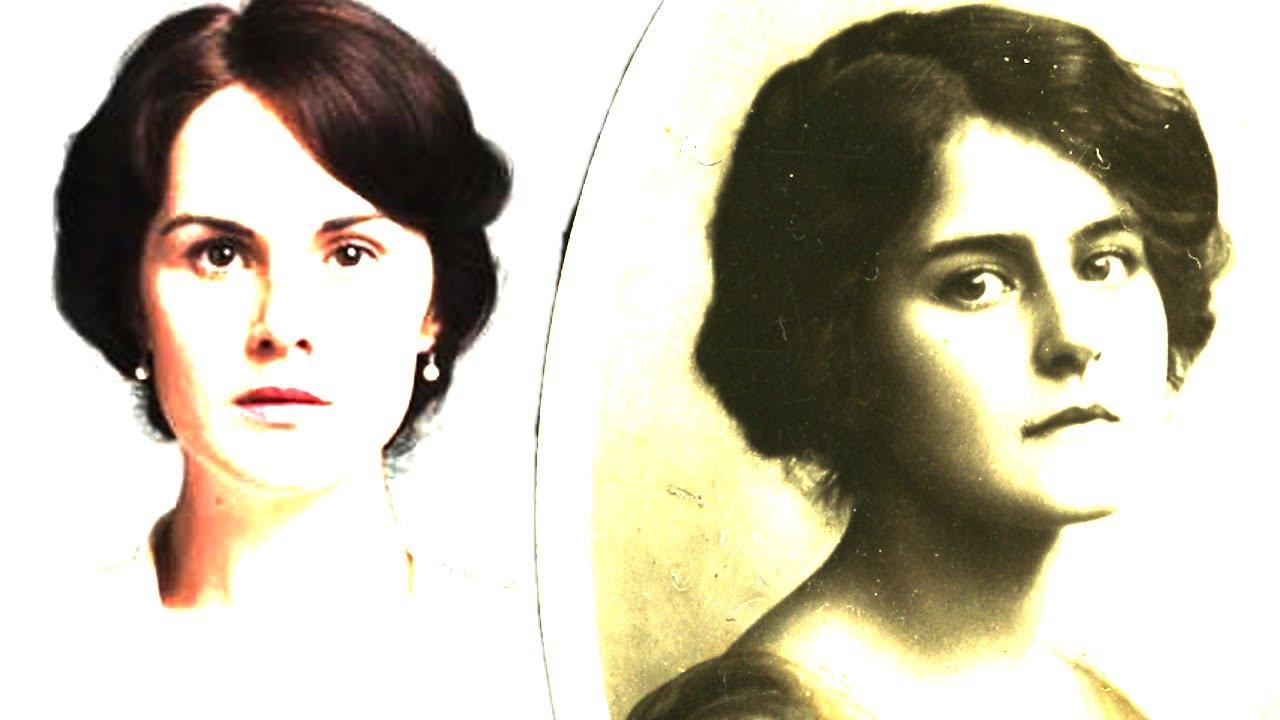 1910's lady mary crawley alike