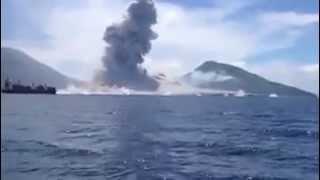 Volcano Shock Waves
