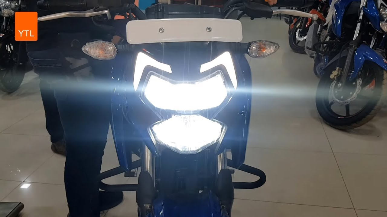 New Tvs Apache RTR 4V (160) Beautiful Blue ABS Series