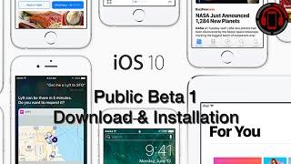 iOS 10 Public Beta 1 Download & Installation [Deutsch/German]