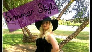 Summer Style - OOTD High Low Dress & Violet Lips Thumbnail
