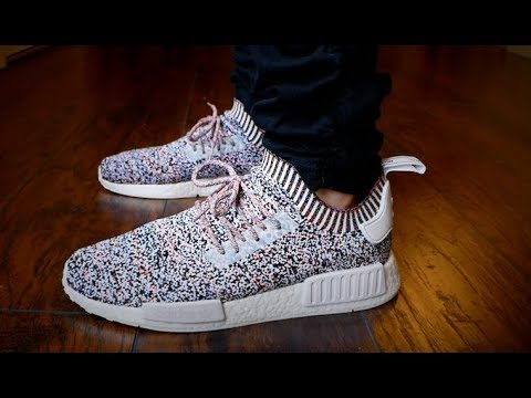 807319f78a3a4 Adidas NMD Color Static Review   On Feet! + I m coming to Philly   Vegas!