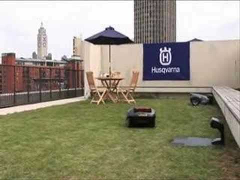 automower solar hybrid le robot tondeuse intelligent de robootic samseventies sur. Black Bedroom Furniture Sets. Home Design Ideas
