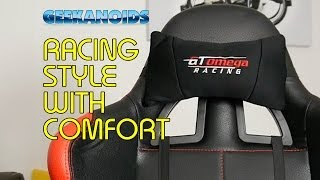 Gt Omega Pro Racing Office Chair Review @gtomegaracing