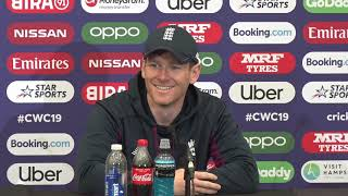 Eoin Morgan Previews England v West Indies