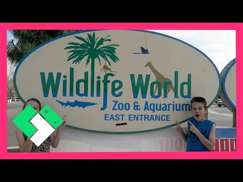 FAMILY FUN AT WILDLIFE WORLD ZOO & AQUARIUM (Day 1429) | Clintus.tv
