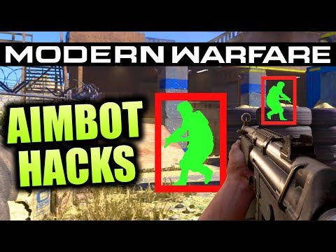 Call Of Duty Modern Warfare - Aimbot/ESP Hacks! Ruining The Game... (COD MW Mods)