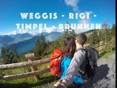 WEGGIS - RIGI - TIMPEL - BRUNNEN (SWITZERLAND) - HIKING ADVENTURE - GOPROHERO 4