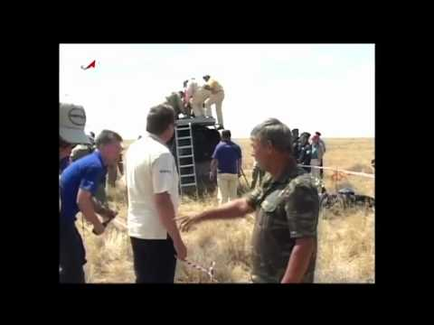 Expedition 31 Crew Lands Safely in Kazakhstan