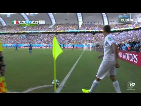 Uruguay 1 Italia 0 (2do.Tiempo) (2014) HDTV 720p