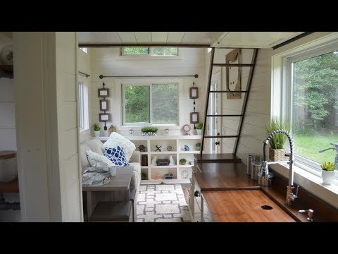 Mohican The Cute 160 Sq Ft Tiny House By Modern Tiny Living Youtube