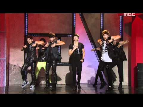 Download lagu baru Infinite : Be Mine - 인피니트 : 내꺼하자, Music Core 20110723 Mp3 gratis