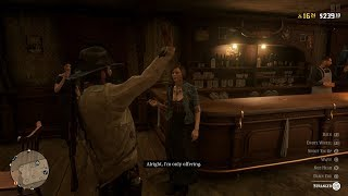 Red Dead Redemption 2 Online Communicating With Saloon Girls Worse Than Story Mode
