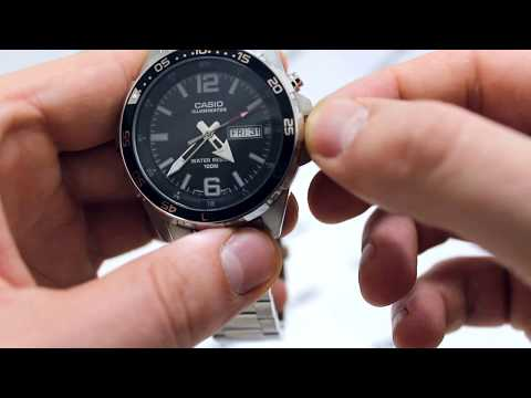 Часы Casio MTD-1079D-1A2 - видео обзор от PresidentWatches.Ru