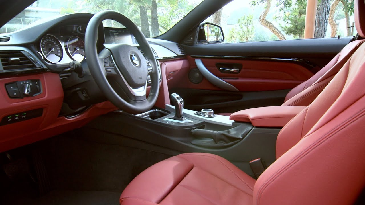 2014 Bmw 435i Coupe Sport Line Interior Youtube