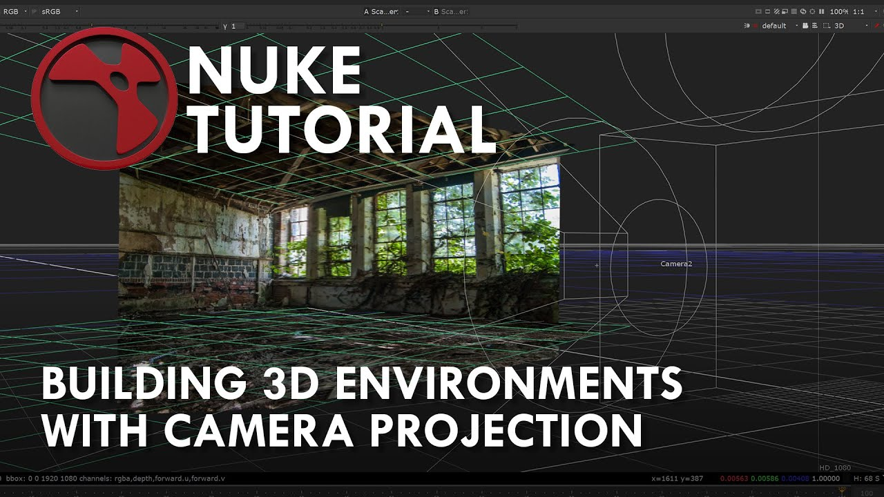 Nuke projection tutorial part 1 youtube.