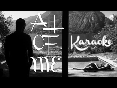 All of Me | Karaoke | Acoustic Guitar Cover( with Lyrics )