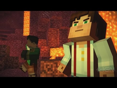 First 15 Minutes of Minecraft: Story Mode Episode 2 - Assembly Required