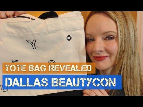 Dallas BeautyCon 2016 || Tote Bag Revealed