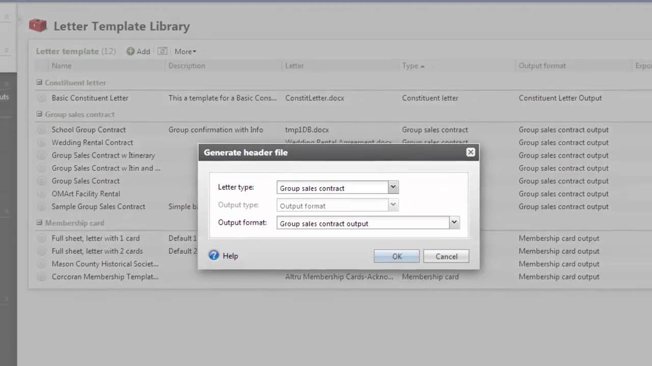 configuring group sales contracts in altru youtube