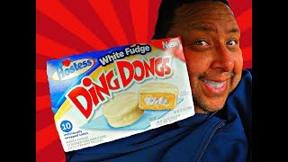 Hostess® White Fudge Ding Dongs REVIEW!
