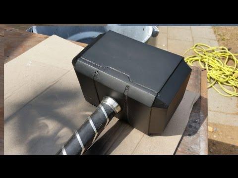 Thors Hammer Carbon Fiber & Kevlar!