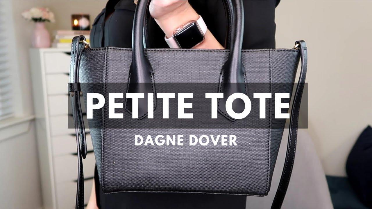 61b1e4e37323 Dagne Dover Petite Tote Review - YouTube