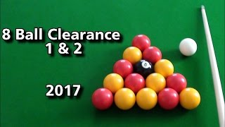English 8 Ball Clearances 1 u0026 2| 2017