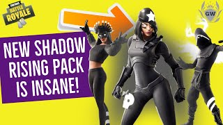 The NEW Fortnite Shadows Rising Pack is here! how to get Fortnite shadow skins!