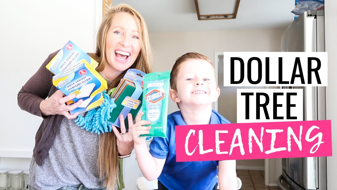 Dollar Tree Cleaning Haul |  Dollar Tree Cleaning Supplies