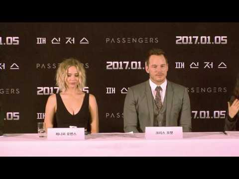 영화 '패신저스' 내한 기자 간담회 full ver.('Passengers' Press Conference in Seoul)