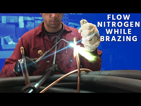 how-to-flow-nitrogen-while-brazing