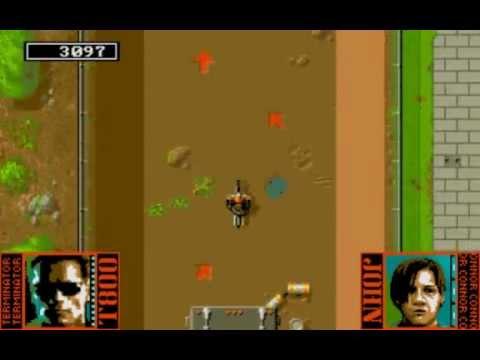 Terminator 2 (1991) MS-DOS PC Game Playthrough