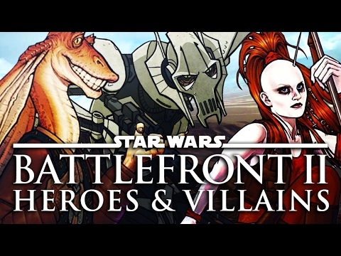 11 Star Wars Heroes & Villains We Want in Battlefront 2 - Up At Noon Live!