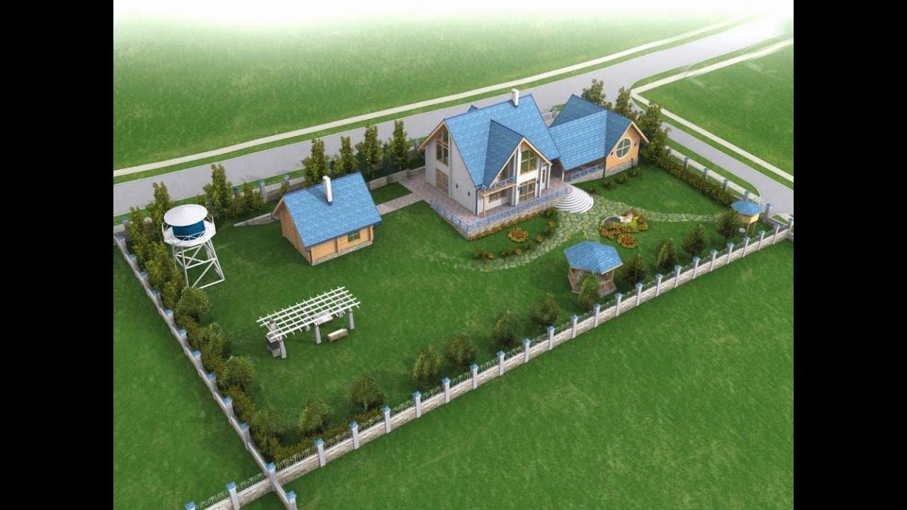 как спланировать участок под строительство дома