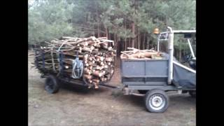 Ulepszenia przyczepy do drewna