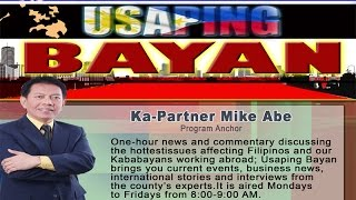 Usaping Bayan : With Mike Abe - June 22, 2016 - Part 2
