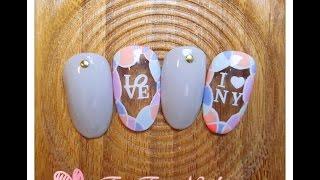 nails tutorial-*粉嫩泡泡*凝膠美甲【小花兒 FunFun Nailの生活記趣】美甲教學–Gel Nails–DIY nails tutorial