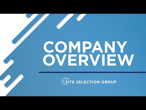 Site Selection Group Overview