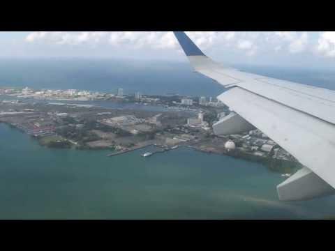 ATERRIZAJE EN SAN JUAN - PUERTO RICO