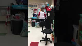 1st grade + 3 parties = Tired teacher Funny...No one was hurt!